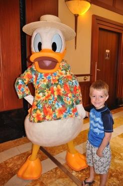 Donald Duck!